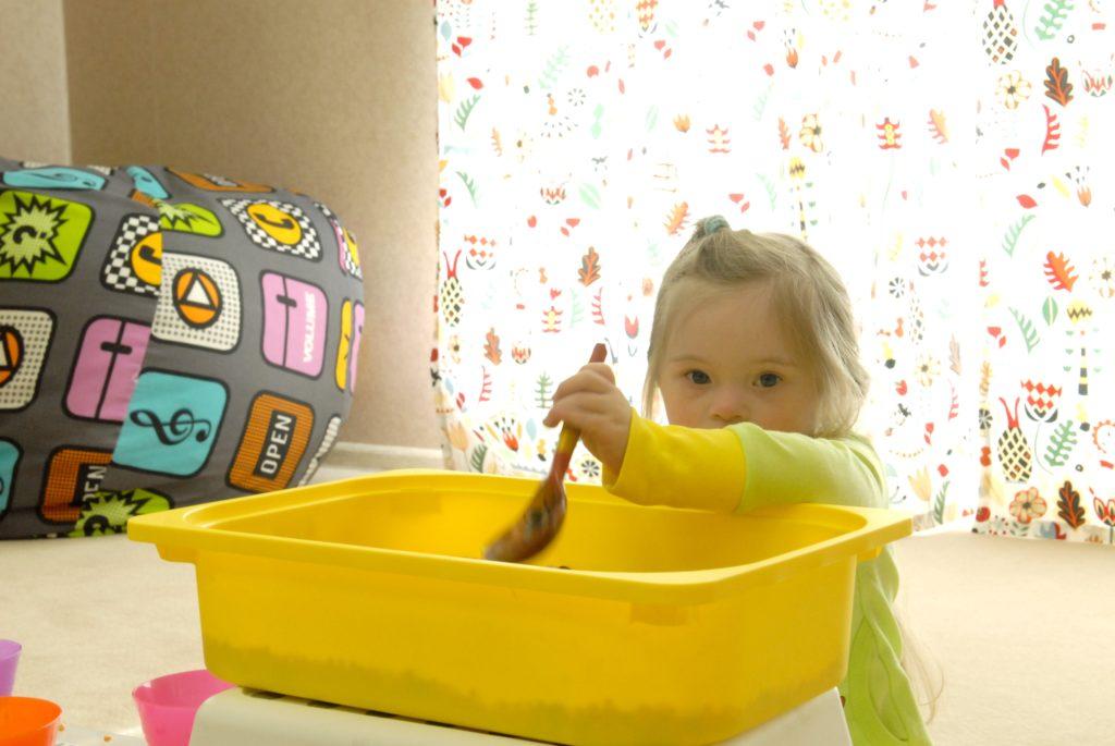 Занятия для детей с синдромом Дауна